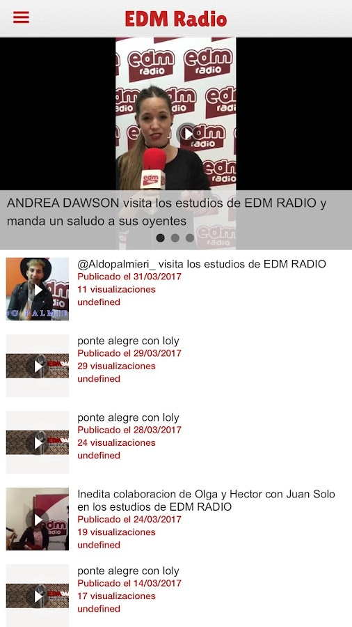 EDM Radio Oficial- screenshot