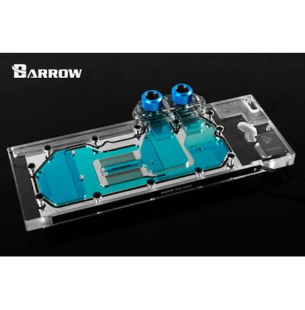 Barrow vannblokk for skjermkort, TITAN V Volta