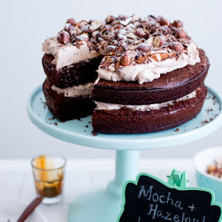 Mocha And Hazelnut Layer Cake
