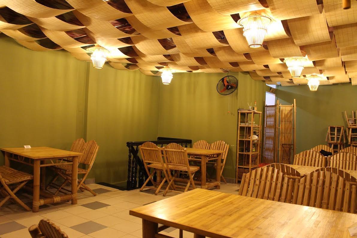 Không gian yên tĩnh tại Bamboo Quán