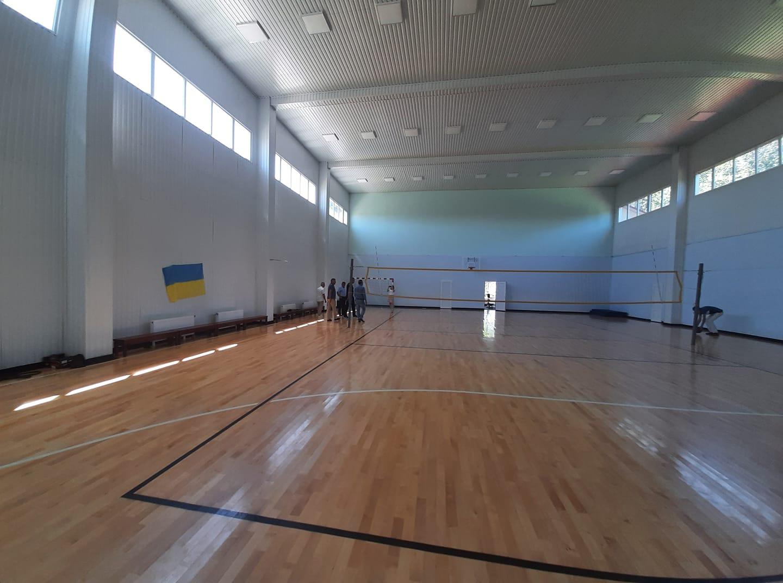 Полноценный спортивный зал в Понорнице, Черниговская область