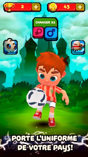 Télécharger Gratuit ⚽Star Dribble - Runner du Football Mondial mod apk screenshots 1