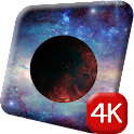 Cosmos Planets 4K Live Wallpap icon
