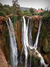 Photo: vodopád Ouzoud, na cestě do hor