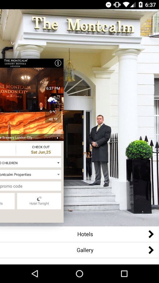 The Montcalm - London Hotels- screenshot