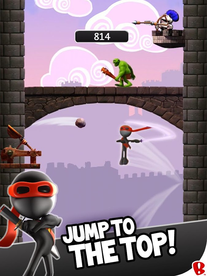 NinJump DLX: Endless Ninja Fun- screenshot