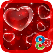 Shiny Hearts GO Launcher Theme