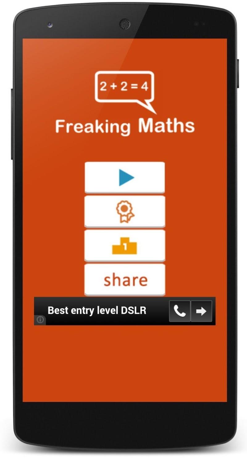 Скриншот Freaking Maths
