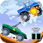 Two players game – Crazy racing via wifi (free) icon