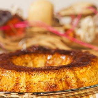 Banana Caramel Upside Down Cake with Cinnamon
