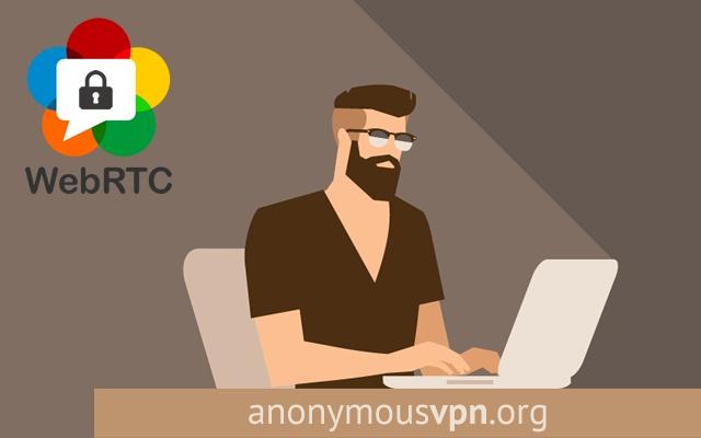 Anonymous VPN - WebRTC leak prevent chrome extension
