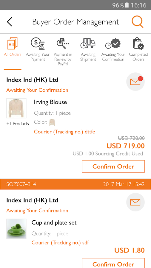 HKTDC Marketplace- screenshot