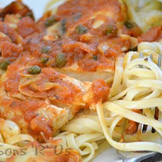 6 Ingredient Tuscan Chicken.