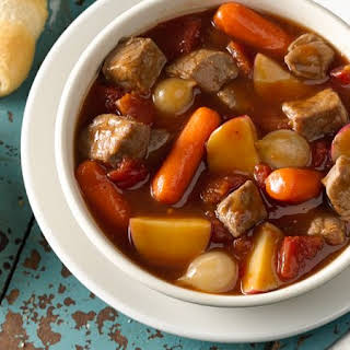 Slow-Cooked Family-Favorite Beef Stew.