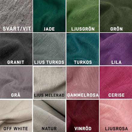 Linnetyg med Struktur - många färger
