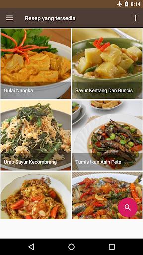 Screenshot 4 Resep Masakan Rumahan