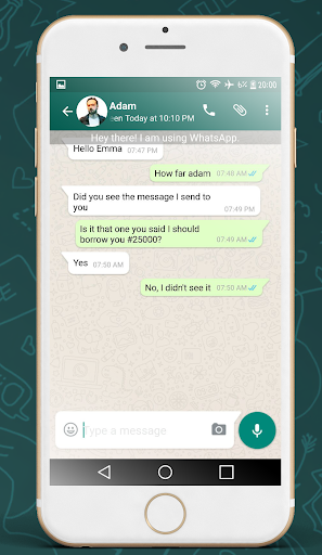 WhatsFake - Fake chat conversation for whatsapp for PC