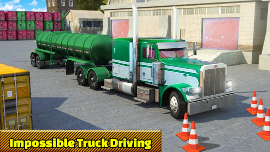 Truck Parking Adventure 3D:Impossible Driving 2018 9