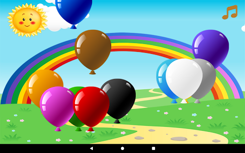 Touch Balloon Pop Game - náhled
