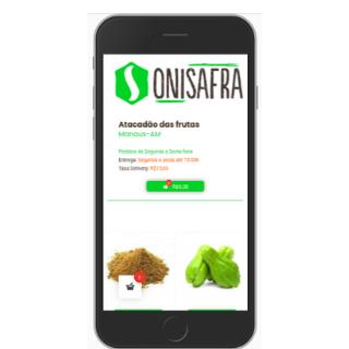 Onisafra - Faça sua feira online e receba em casa screenshot 2