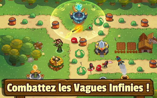 Realm Defense: Hero Legends Défense de tours TD  captures d'écran 1