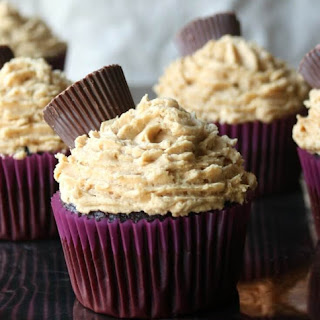 Chocolate Peanut Butter Cupcakes With Cake Mix Recipes