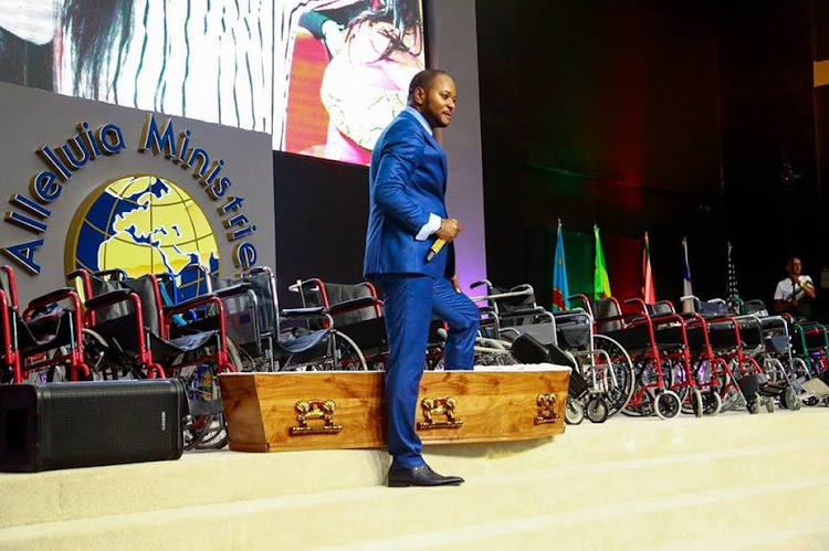 "Pastor Alph Lukau's church has been called out for performing fake ""miracles""."