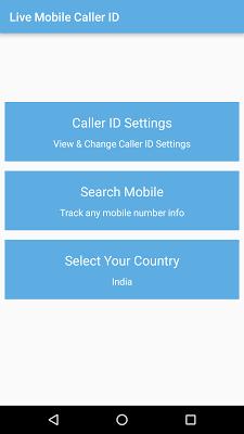 Live Mobile Caller-ID Tracker - screenshot