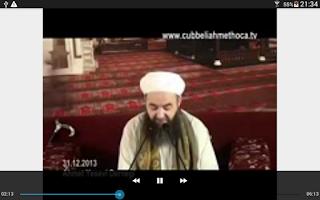 Screenshot of Cübbeli Ahmet Hoca Sohbetleri