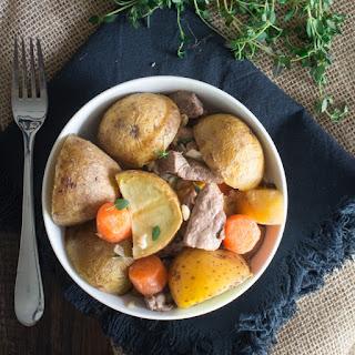 Easy Irish Stew.