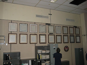 Photo: Mission Statements of all past MCC Flight Directors