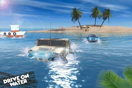 Water Surfer Car Racing - náhled