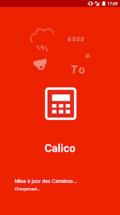 Calico app - náhled
