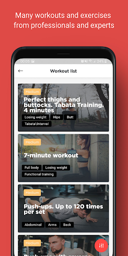 Download My Coach: Free Workouts and exercises trainer 2.5.2 1
