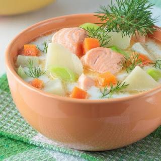 Salmon Fish Soup Recipes