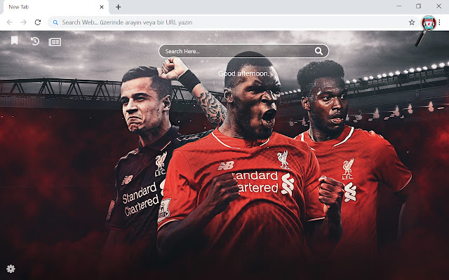 Liverpool F C Hd Wallpapers New Tab