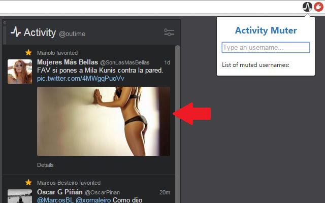TweetDeck Activity Muter