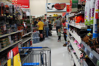 Photo: After spending about 30 minutes in this same aisle I was ready to go!