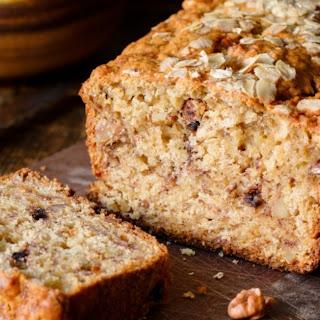 Choco-'Nana-Oat-Nut Quick Bread.
