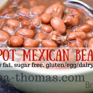 Crockpot Mexican Beans.