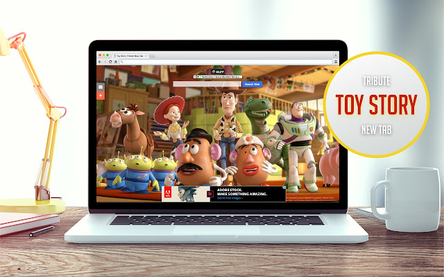 Toy Story Tribute New Tab