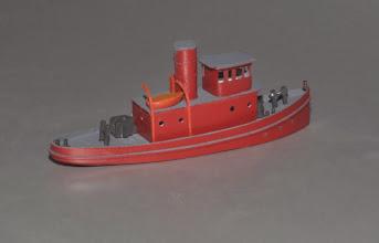 Photo: Prototype N Scale 80' Tugboat