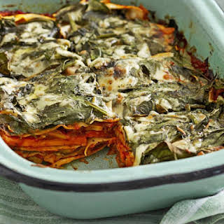 Mushroom and Sweet Potato Lasagna.