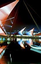 Photo: 004 - Expo-Zelte bei Nacht