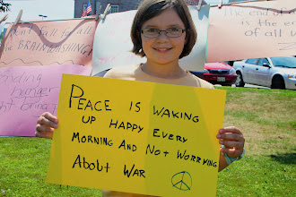 Photo: Peace is Waking  Up Happy Every Morning and Not Worrying About War