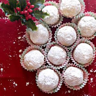 Lemon Snowball Cookies.