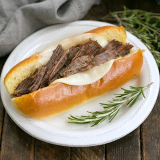 Instant Pot French Dip Sandwiches.