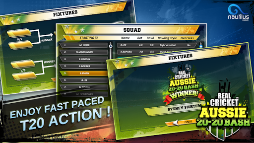 Real Cricket u2122 Aussie 20 Bash 1.0.7 screenshots 6