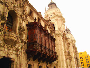 Photo: #011-Lima. Le Palacio del Arzobispo.