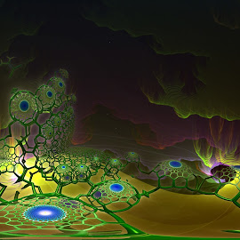 Spring Has Arrived....Finally! by Rick Eskridge - Illustration Sci Fi & Fantasy ( jwildfgire, spring, mb3d, fractal, twisted brush )